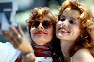 Thelma et Louise, au début de l'aventure...