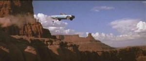 Thelma et Louise finissent leur folle cavale en sautant dans le Grand Canyon...
