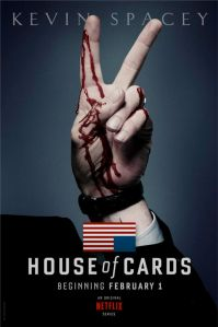 Pas de pouvoir sans cadavre ni sang, dans House of cards...