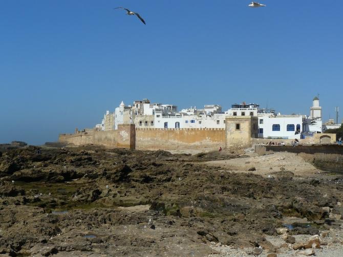 Une médina blanche, des remparts aux accents bretons... C'est ça, Essaouira. Et pas que.